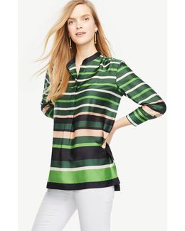 Striped Popover Tunic
