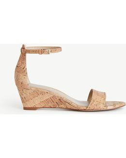 Petra Cork Wedge Sandals