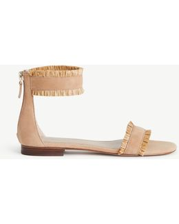 Ivette Leather Strappy Sandals