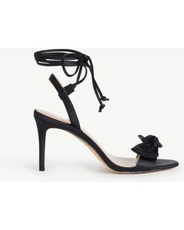 Josette Lace Up Bow Sandals