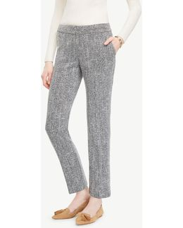 The Ankle Pant In Tweed - Devin Fit