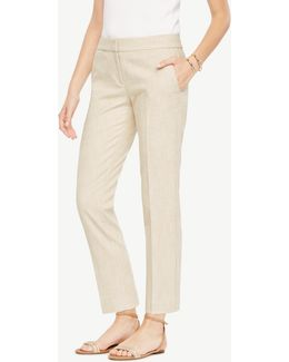 The Ankle Pant In Texture - Devin Fit