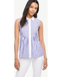 Striped Bib Swing Top