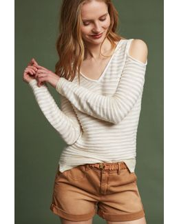 Desiree Open-shoulder Pullover