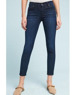 Twiggy Mid-rise Skinny Ankle Petite Jeans