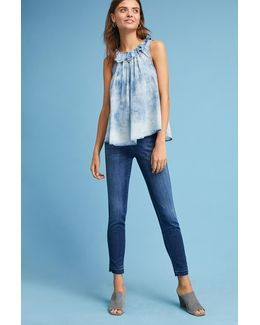 Skinny Pusher High-rise Jeans