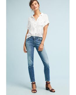 Baker Mid-rise Cropped Jeans