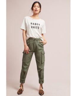 Zoey High Waist Cargo Pants
