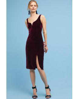 Sasha Velvet Midi Dress