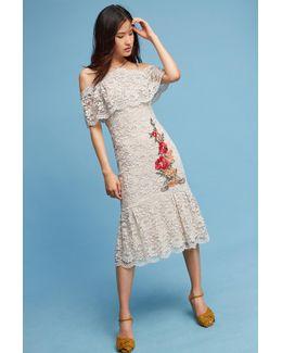 Gramercy Lace Trumpet Dress