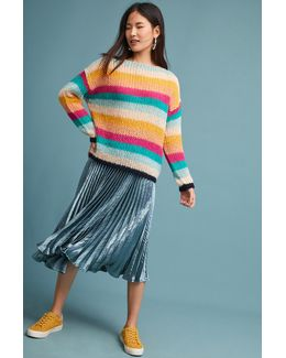 Janey Striped Pullover