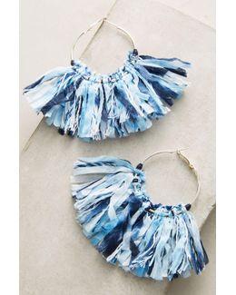 Woven Mary Hoop Earrings