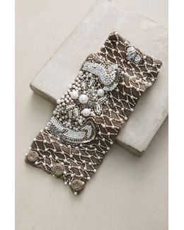 Krissie Beaded Chiffon Bracelet