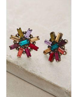 Amethyst Rainbow Earrings