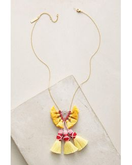 Rayna Neon Tassel Necklace