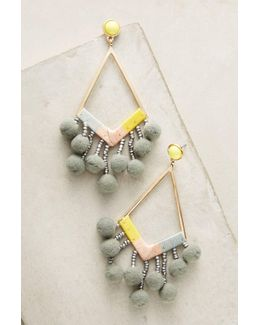 Pom-drop Earrings
