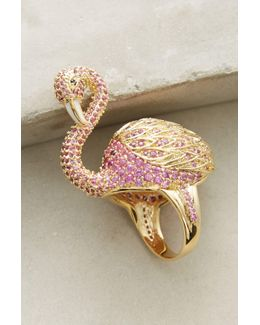 Flamingo Cocktail Ring