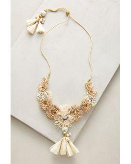 Raffia Palm Necklace
