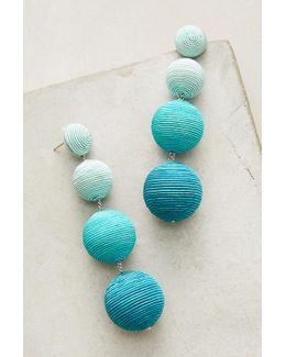 Ombre Orb Drop Earrings