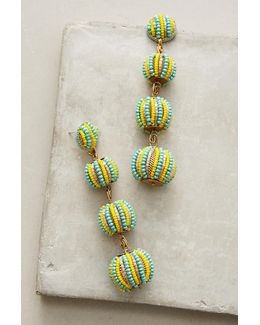 Candy Stripe Drop Earrings