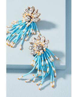 Ocean Cascade Drop Earrings