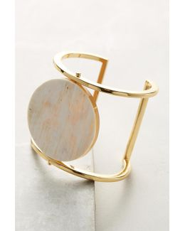 Blonde Horn Cuff Bracelet
