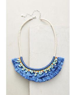 Acalia Fringed Collar Necklace
