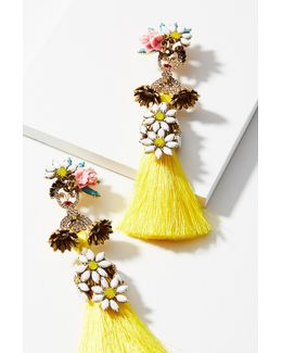 Isobel Tassel Drop Earrings