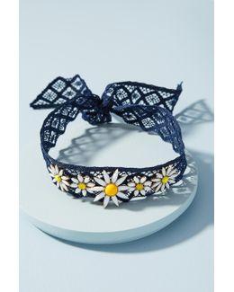 Daisy Lace Choker Necklace