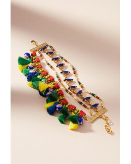 Scilla Tassel Bracelet