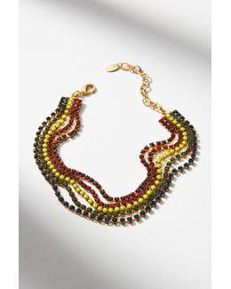 Alma Rainbow Choker Necklace