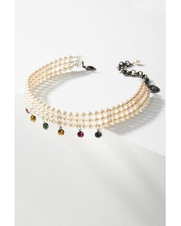 Heaven Crystal Choker Necklace