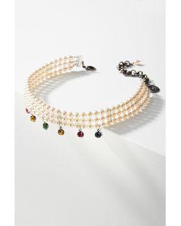 Heaven Crystal Choker Necklace
