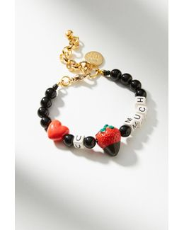 Berry Love Charm Bracelet