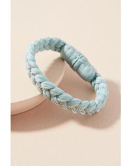 Braided Chiffon Bracelet