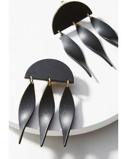 Dangling Ivy Drop Earrings