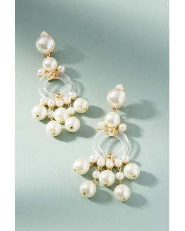Boulevard Pearl Drop Earrings