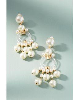 Boulevard Pearl Drop Earrings