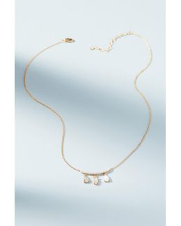 Delicate Windchime Necklace