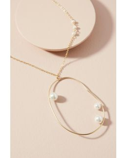 Mod Pearl Necklace