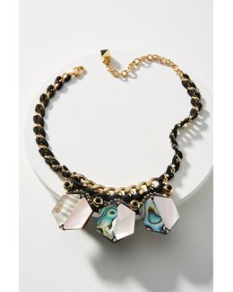 Shun Shell Collar Necklace