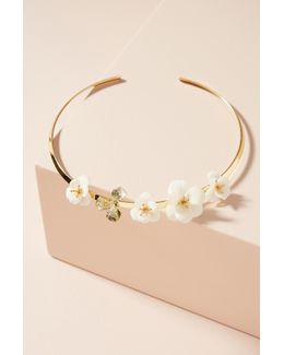 Lily Of The Valley Collar Necklace