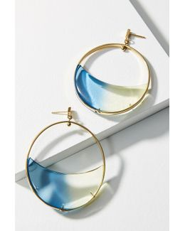 Gemology Lucite Luna Drop Earrings