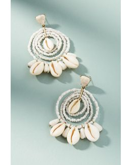 Kalani Shell Drop Earrings
