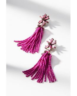 Monet Tassel Drop Earrings