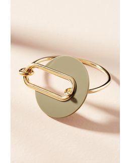 Berlin Lucite Cuff Bracelet