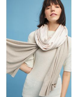 Two-toned Patched Scarf
