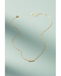 Pea Pod Delicate Necklace