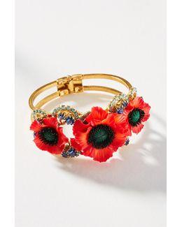 Poppy Cuff Bracelet