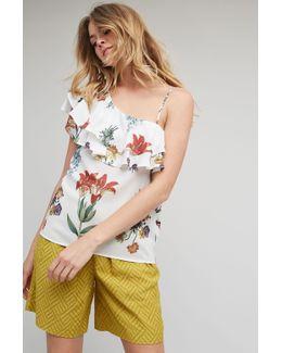 Blakely Floral One Shoulder Blouse